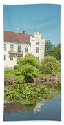 Wanas Castle Duck Pond Beach Towel