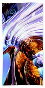 Wandering Helix Abstract Beach Towel