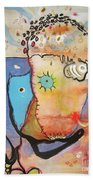 Wandering In Thought Beach Towel