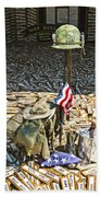 War Dogs Sacrifice Beach Towel
