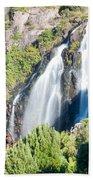 Waratah Falls Tasmania Beach Towel