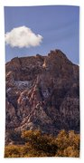 Warm Light In Red Rock Canyon Beach Towel