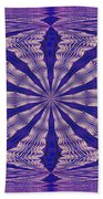 Warped Minds Eye Beach Towel