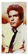 Warren Beatty, Vintage Movie Star Beach Towel