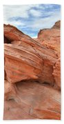 Wash 3 Beehives In Valley Of Fire Beach Towel