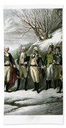 Washington And His Generals  Beach Sheet