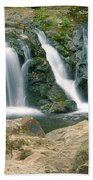 Washington Falls 3 Beach Towel