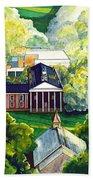 Washington Hall At Washington And Lee University Beach Sheet