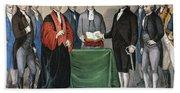 Washington: Inauguration Beach Towel