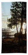 Washington Island Morning 3 Beach Sheet