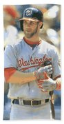 Washington Nationals Bryce Harper Beach Towel
