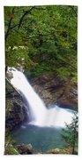Washngton Falls1 Beach Towel