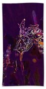 Wasp Insect Makrom Close Up Sting  Beach Towel