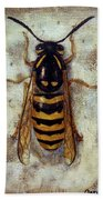 Wasp Beach Towel