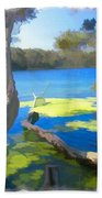 Wat-0002 Avoca Estuary Beach Towel