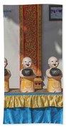 Wat Mae Faek Luang Phra Wihan Daily Merit Bowls Dthcm1879 Beach Towel
