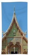 Wat Suan Prig Phra Wihan Gable Dthcm2391 Beach Towel