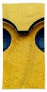 Watching You ... Beach Towel