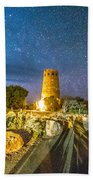 Watchtower Over The Grand Canyon   Arizona Beach Towel