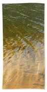 Water Abstract - 1 Beach Towel