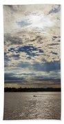 Water And Sky Beach Towel