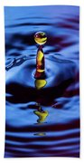 Water Art  Beach Towel