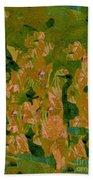 Water Bird Tapestry Beach Towel