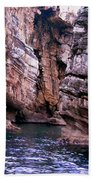 Water Caves - Italy Beach Towel