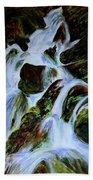 Energy Of Water  Beach Towel