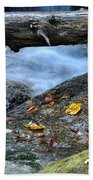 Water Falls Beach Towel