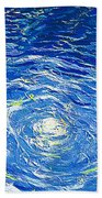 Water In The Pool Beach Towel