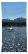 Water Landing Beach Towel