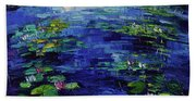 Water Lilies Magic Beach Sheet