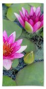 Water Lily #2 Beach Towel
