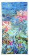 Water Lotus Beach Sheet