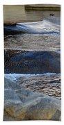 Water Ouzel, Middle Fork Kaweah River, Sequioa National Park Beach Towel