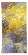 Water Reflection 1144 Beach Towel