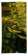 Water Swirl Beach Towel