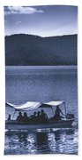 Water Taxi - Lago De Coatepeque - El Salvador Beach Towel