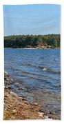 Water Wisp Beach Towel