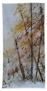 Watercolor 010104 Beach Towel