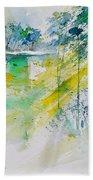 Watercolor 010105 Beach Towel