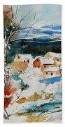 Watercolor  011040 Beach Towel
