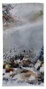 Watercolor 011120 Beach Towel
