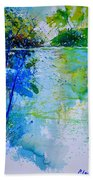 Watercolor 012112 Beach Towel