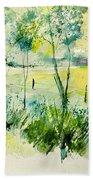 Watercolor 014052 Beach Towel
