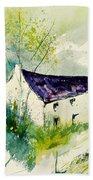 Watercolor 014062 Beach Towel