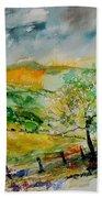 Watercolor 014091 Beach Towel