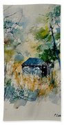 Watercolor 015042 Beach Towel