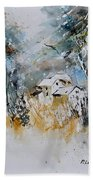 Watercolor 015060 Beach Towel